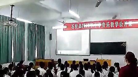 高中音乐优质课视频《美妙的歌声》课堂实录