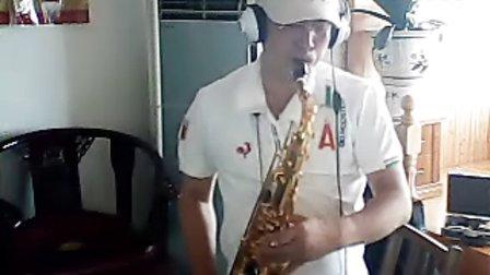 萨克斯次中音曲谱鸿雁