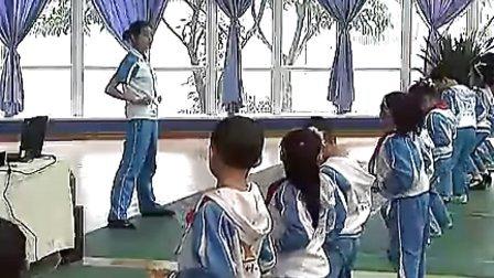 小学二年级体育优质示范课《武术基本动作及五步拳教学》_何小青_视频课堂实录