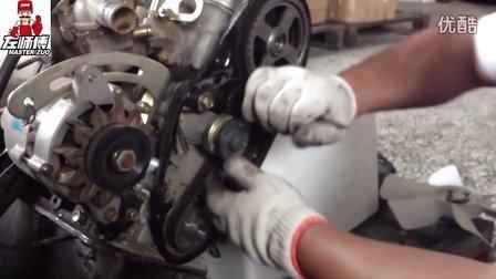 zs456发动机正时拆装视频