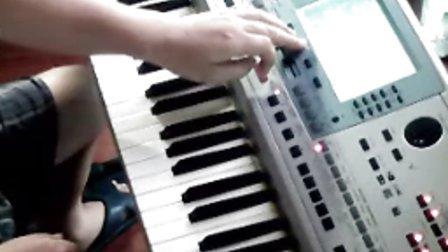 情非得已 电子琴