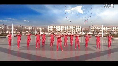 临盘立华广场舞 恭祝大家新年好 含 背面 口令分解动作 教学