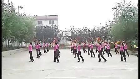 九九排广场舞十里送红军(清晰)视频