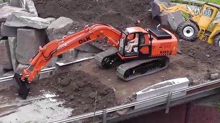 挖机喇叭接线图解