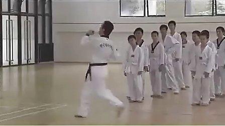 小学三年级体育优质课视频《跆拳道课》_视频课堂实录