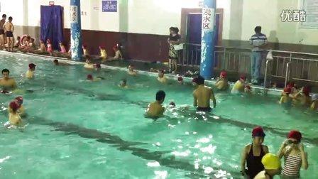 20120712学游泳蛙泳手脚配合