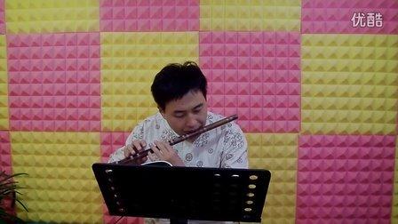 塔塔尔族舞曲f调梆笛视频