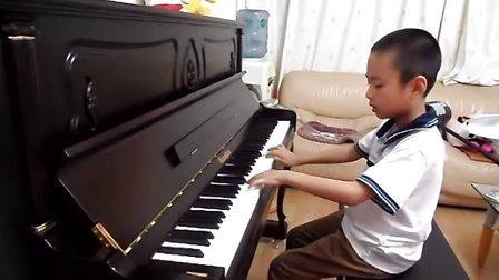 音协三级康定情歌钢琴曲