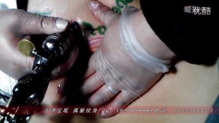性感美女腹部彼岸花纹身视频