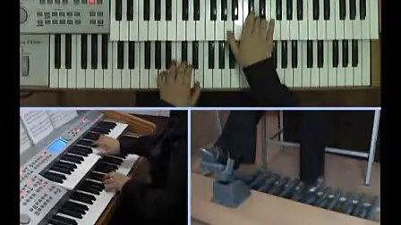 吟飞电子管风琴示范演奏图片