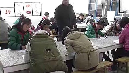 小学六年级美术优质课展示《用一根线条去散步》_李老师视频课堂实录