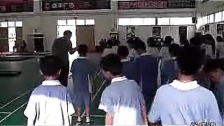 七年级体育优质课展示《蹲踞式跳远》_蔡老师