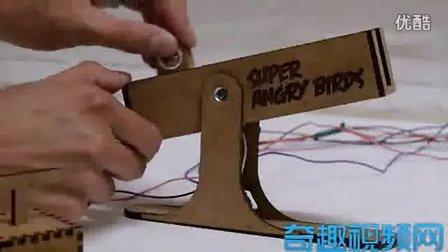 牛人制作愤怒的小鸟控制器