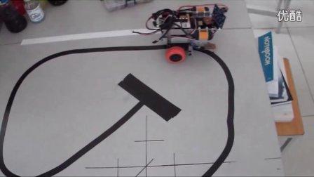 diy一个arduino智能小车之光电传感器循迹