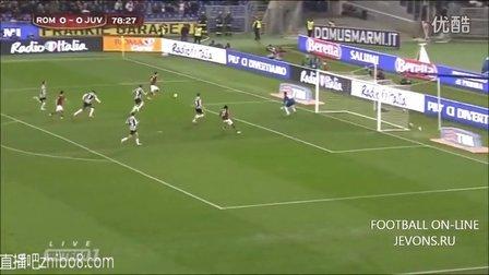 意杯-热尔维尼奥脚后跟绝杀 罗马1-0斩尤文晋级