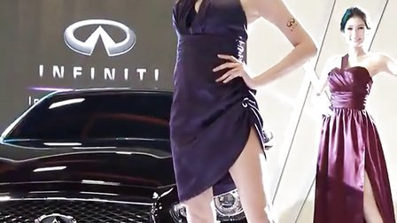 准备好了吗 车模美女超正超完美身材