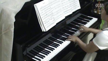 儿童钢琴曲《小星星变奏曲》钢_tan8.com