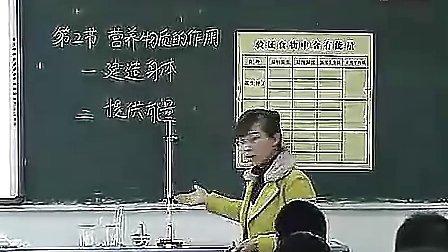 《营养物质的作用》(陶源)2010年江苏省初中生物创新优质课评比