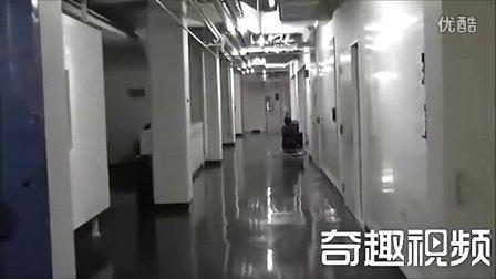 技术男自制迷你卡丁车
