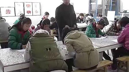 小学六年级美术优质课展示《用一根线条去散步》视频课堂实录