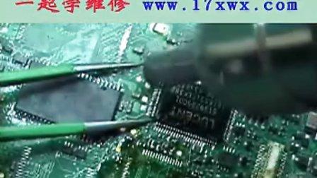 电子元件及芯片焊接技巧-手机维修基础视频教程