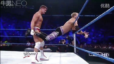 WWE20120703 克里斯坦 vs 科迪·罗兹  SmackDown