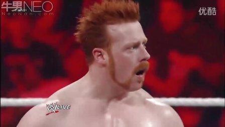 WWE20120702 希莫斯  阿普里尔小姐 vs 道夫·齐格勒  薇琪·格雷罗