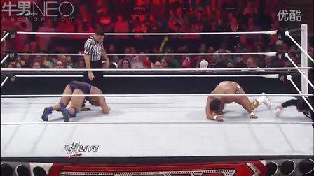 WWE20120618 桑提诺·马雷拉vs阿尔伯托·德·里奥