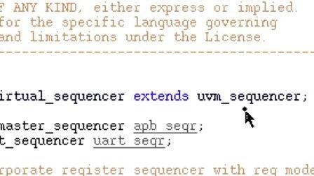 CDNS UVM SV Basics 14 - Virtual Sequencer-Sequence