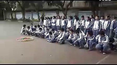 小学五年级体育优质课视频展示《快乐的呼啦圈》_吴老师_视频课堂实录