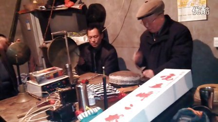 广安,农村川剧玩友坐唱