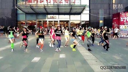 【单色舞蹈】充满青春活力的美女们万达快闪 BGM:Wonder Girls-Like This