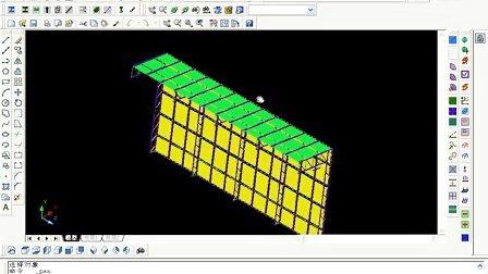PKPM教程3D3S教程點式幕墻設計