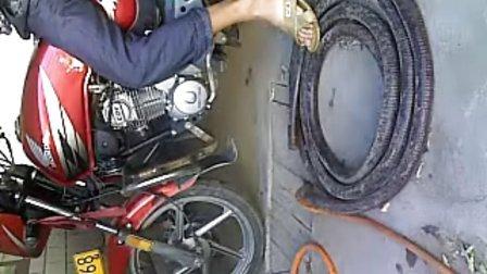 五羊锋芒2摩托车发动机声音