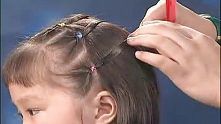儿童发型盘发图片