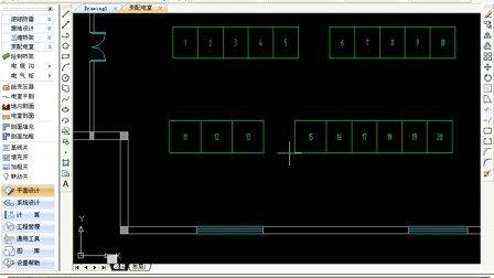 cad2012_浩辰cad教程电力电气2012之 变配电室 cad教程 cad下载