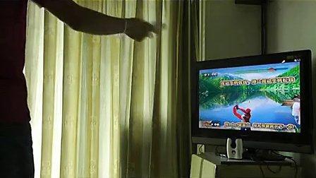 包郵后廚小霸王ET100體感游戲機家庭電視互動健身游戲機無線手柄.