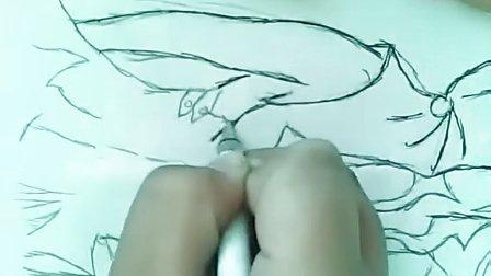 洛斯手绘:雷人画 cf女角色灵狐者