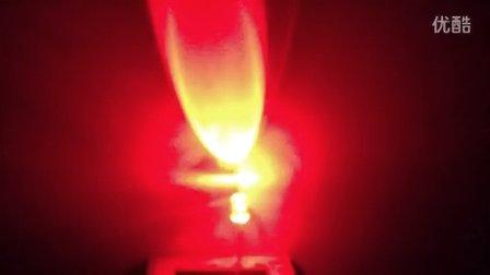 红蓝双闪led发光二极管