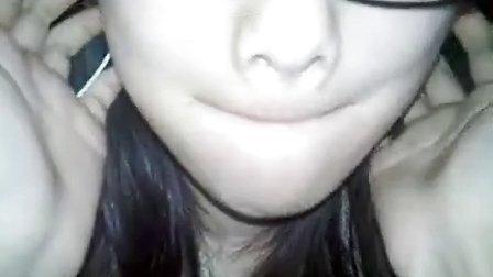 大眼睛美女可爱表情366