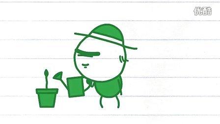 铅笔画小人32