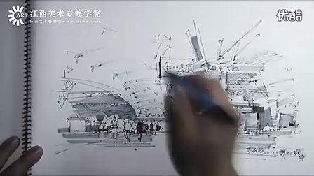 杨健 马克笔手绘表现