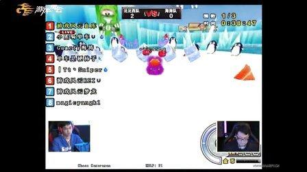 K1电视职业联赛2012第二赛季娱乐赛-BBC队vs海涛队《跑跑卡丁车》道具赛