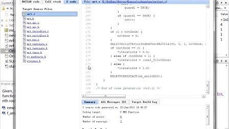 matlab coder-从matlab算法产生高可读性和可移植的c和cpp代码