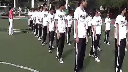 七年级初中体育优质课展示《圆周接力跑》_刘海燕_视频课堂实录