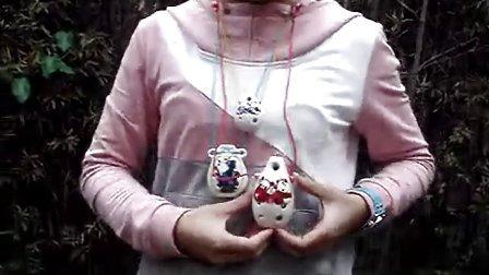 陶笛 瓷笛 依婷(北京欢迎你)