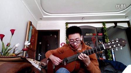 何远志版铁血丹心吉他独奏谱