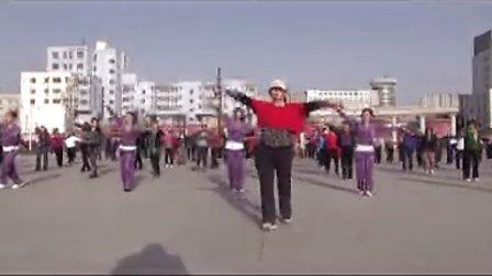 宁夏固原人民广场黎悦健身广场舞