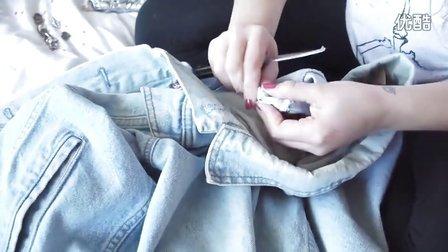 diy牛仔裤图片