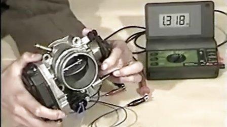 电控发动机各传感器检测